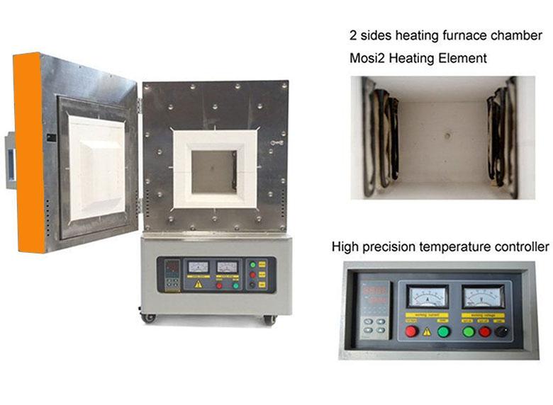 赛罕1800℃大体积马弗炉液晶程序